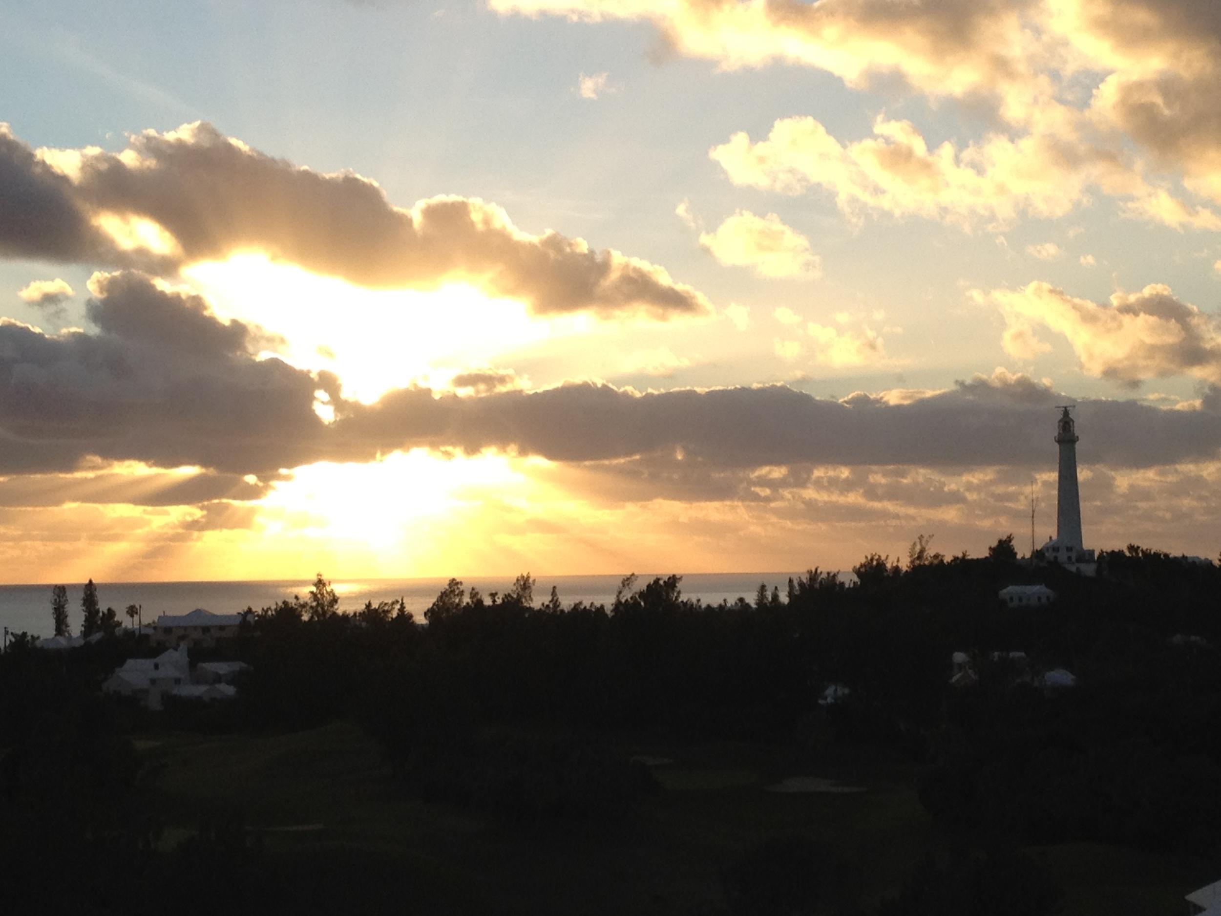 A Gorgeous Sunset - Bermuda 2012