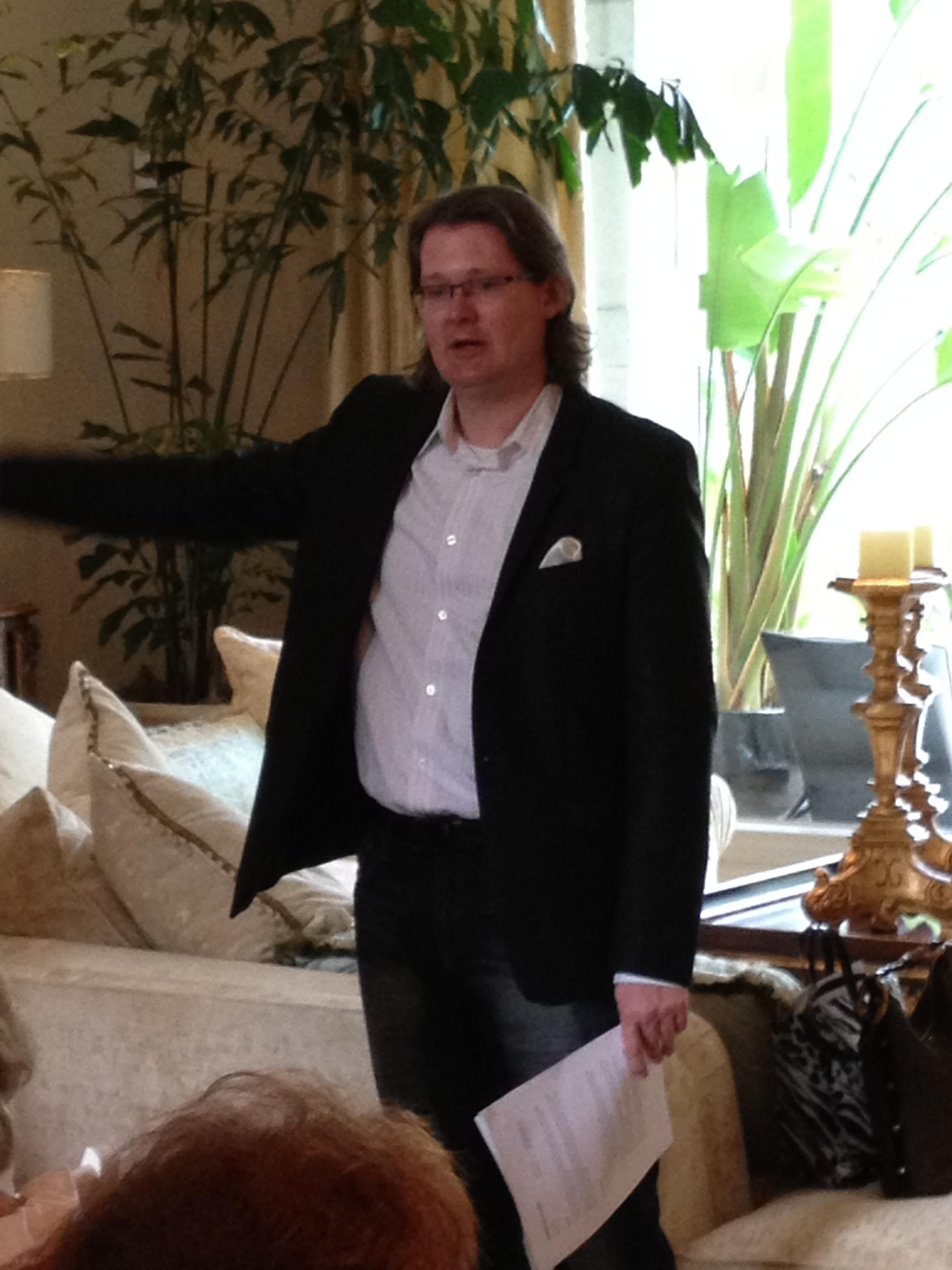 Robert Teaching - Houston 2012