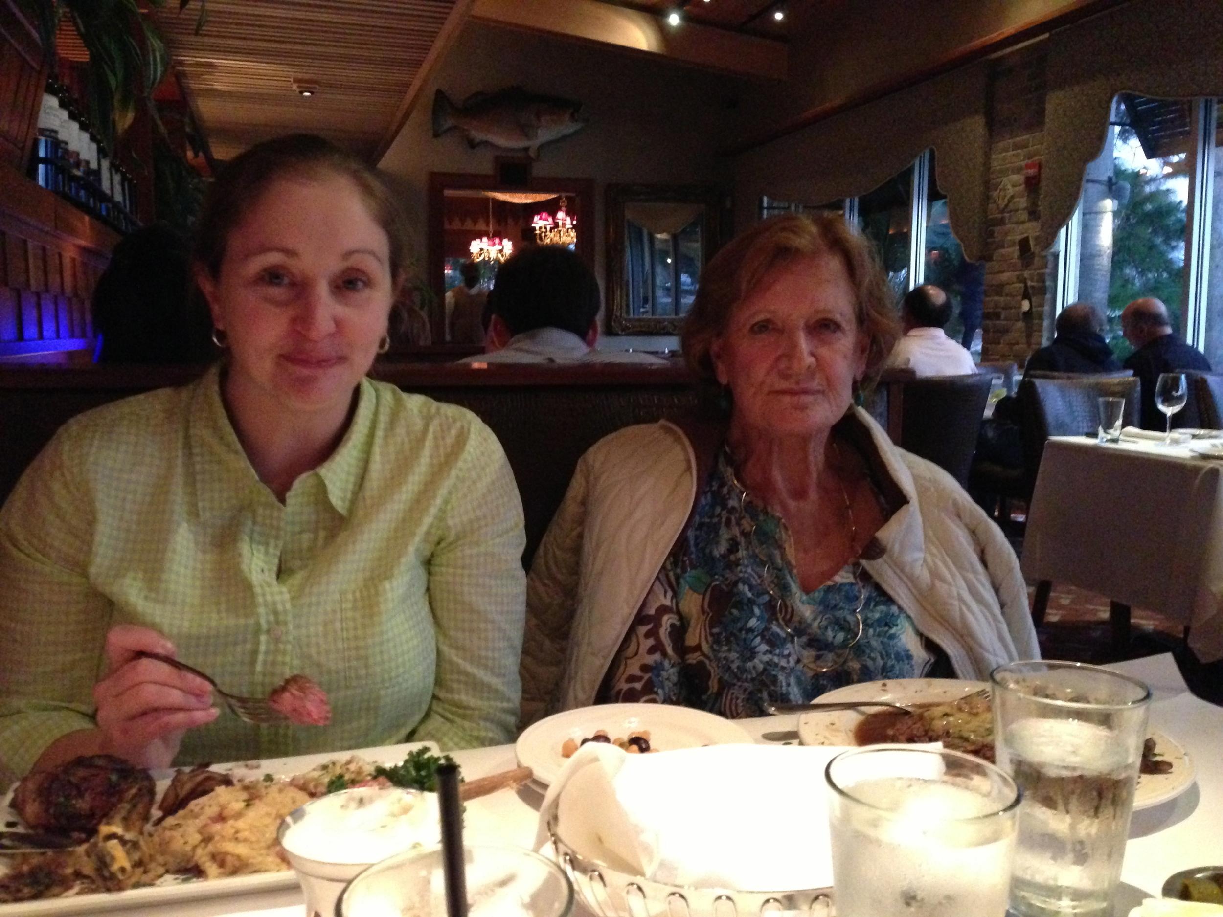 Theri and Bonnie - Orlando 2013