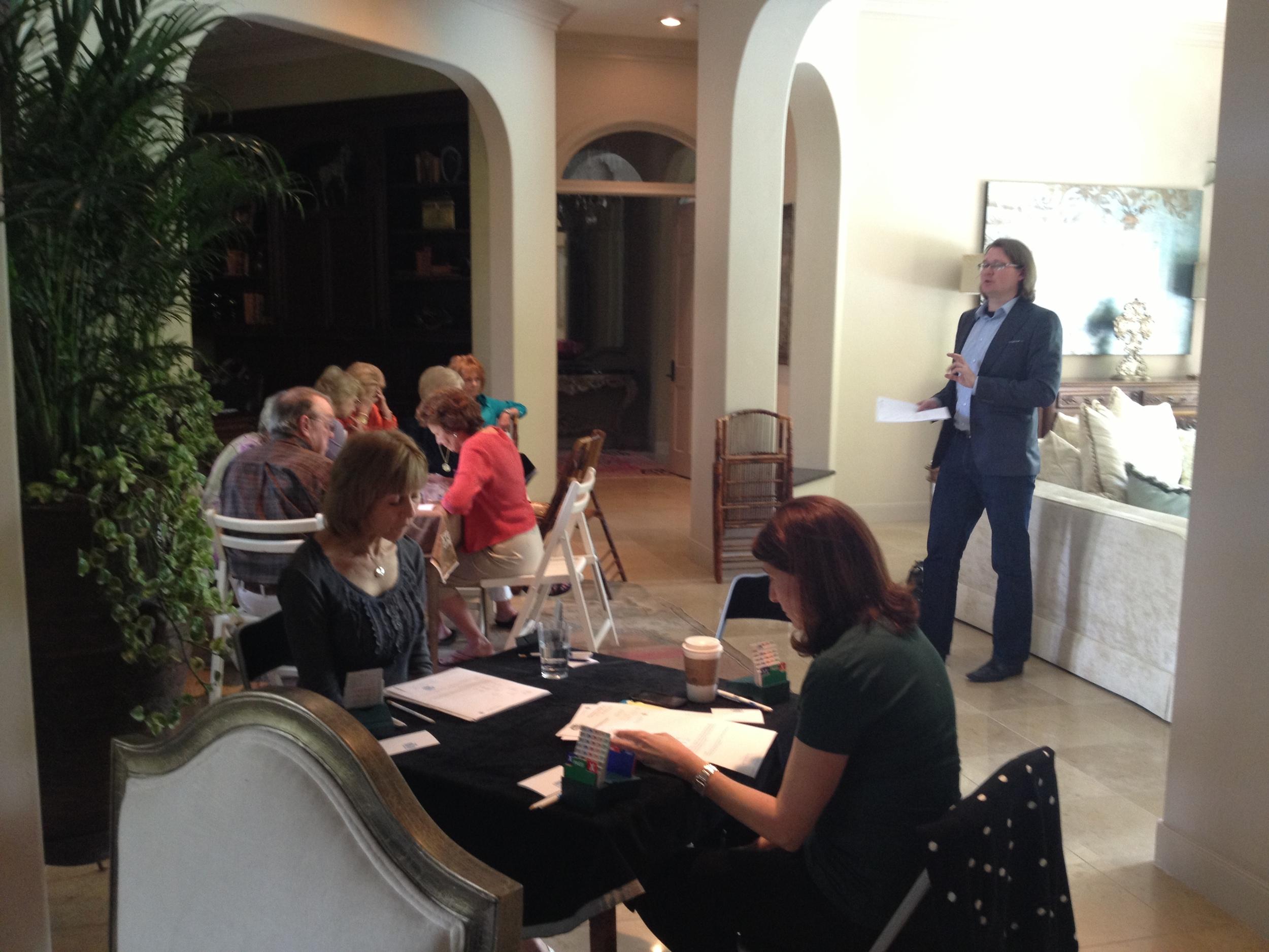 Robert Teaching - Houston 2013