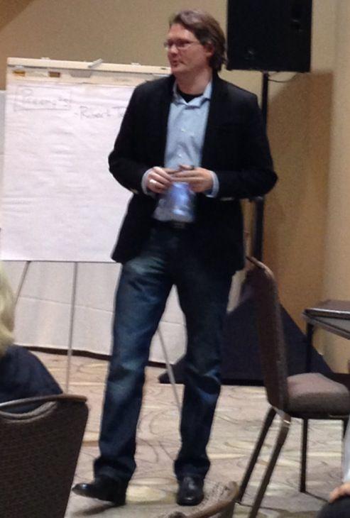 Robert teaching, Santa Clara
