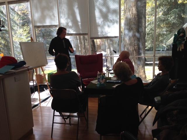 Robert teaching, Aspen, CO