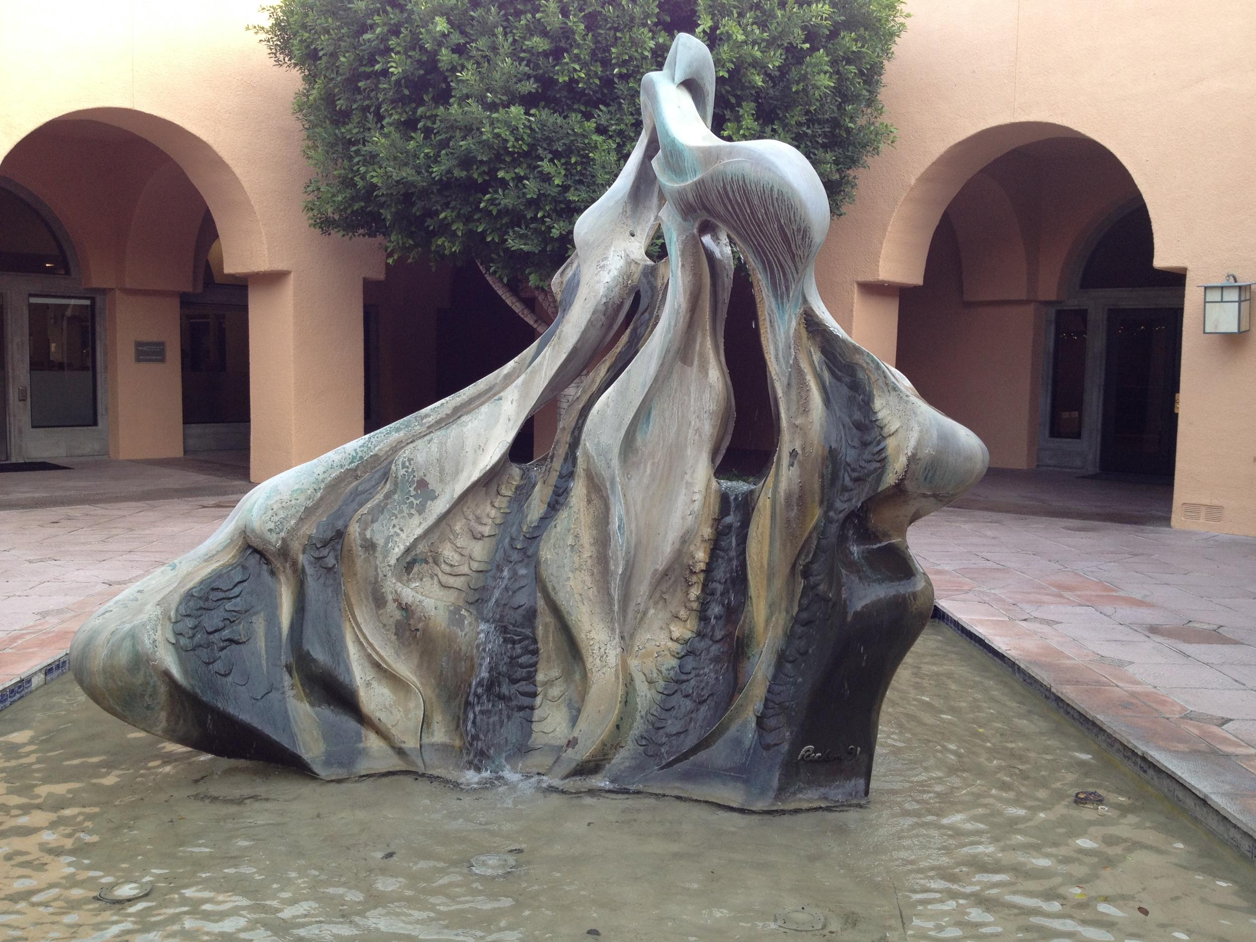 Fountain, Rancho Mirage
