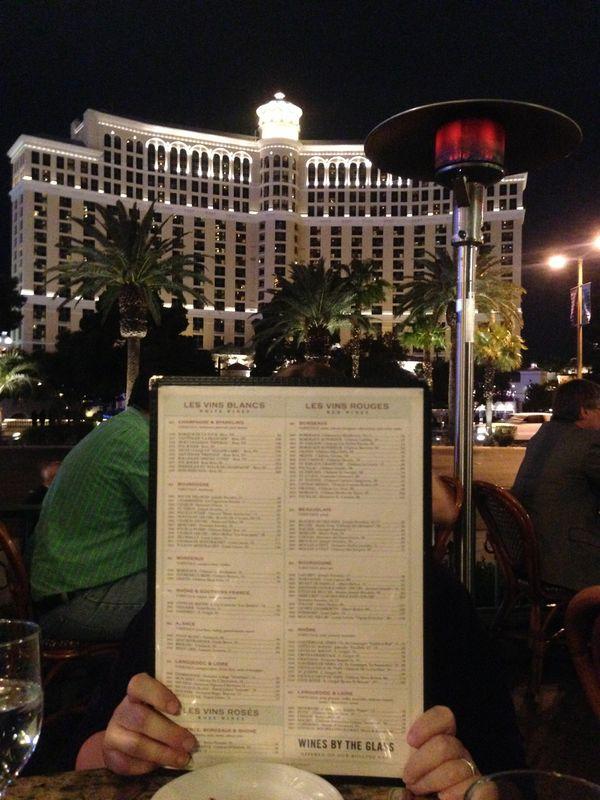 View from Dinner, Las Vegas