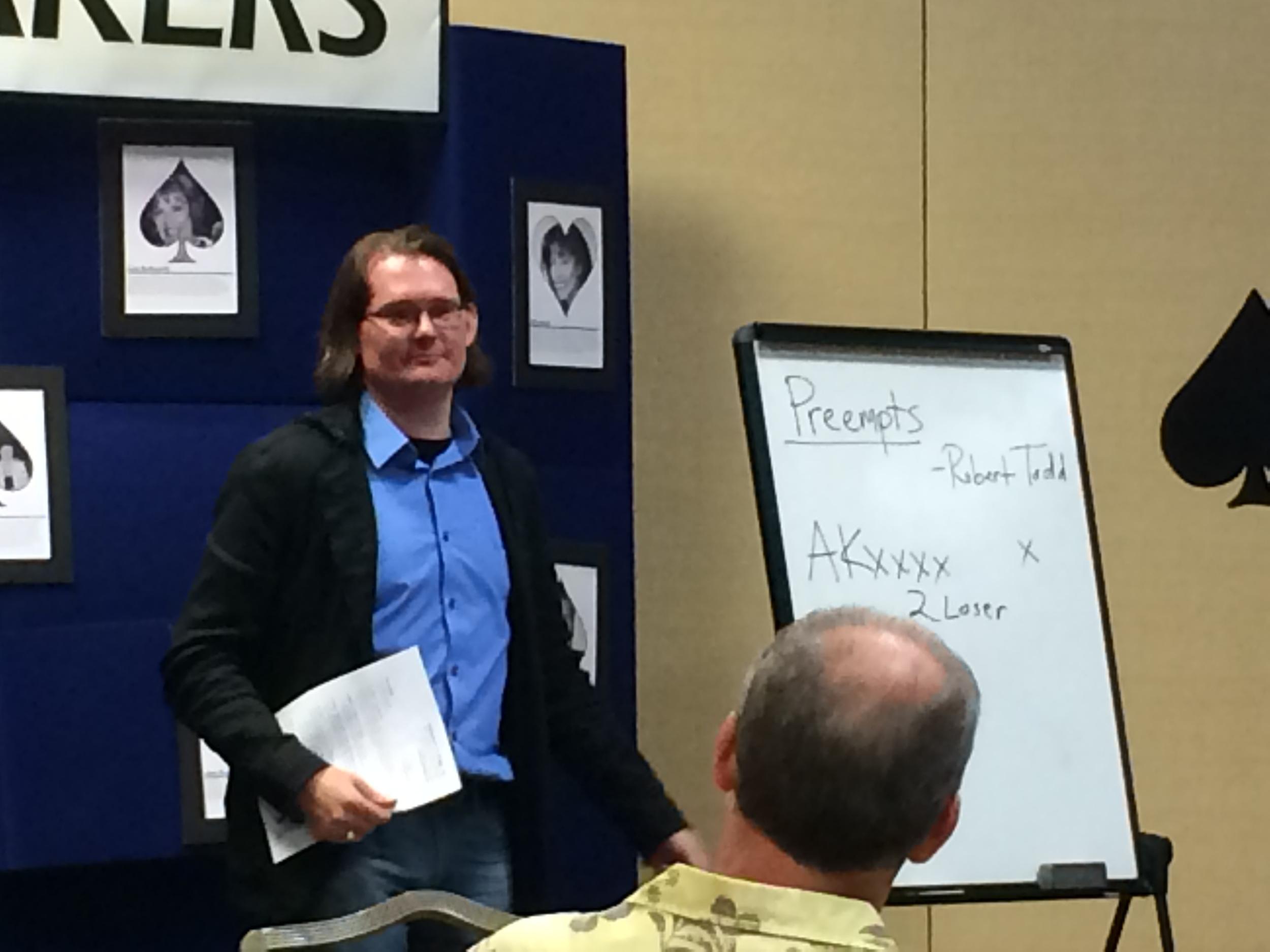 Robert teaching, Las Vegas, NV
