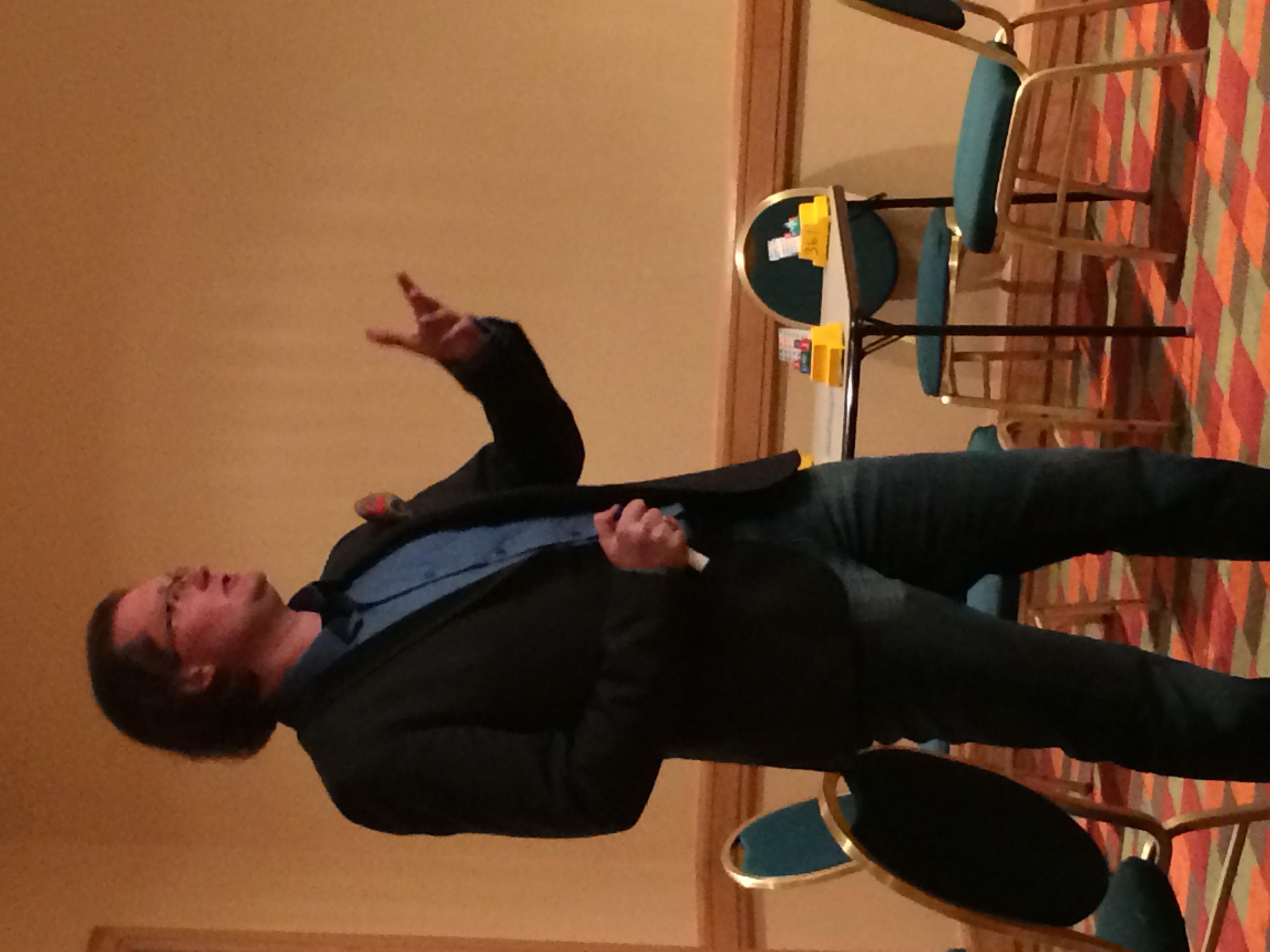 Robert teaching, Denver, CO