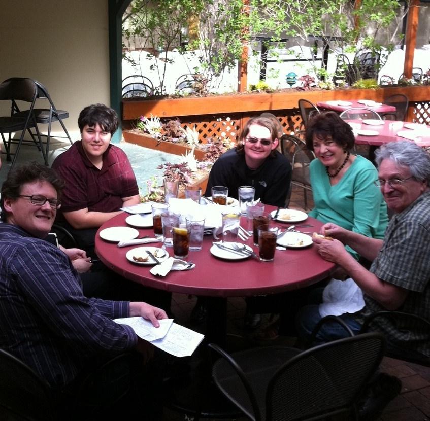 Marty's team, Salt Lake City - May 2011