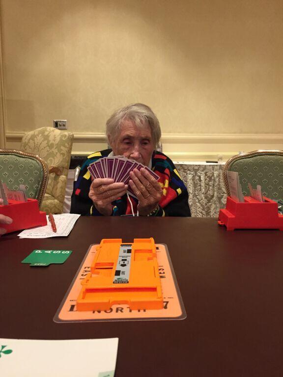 Pat Riding plays at 94!  Bermuda, January 2015