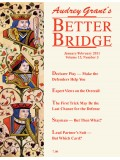 click here to subscribe to the Better Bridge Magazine!