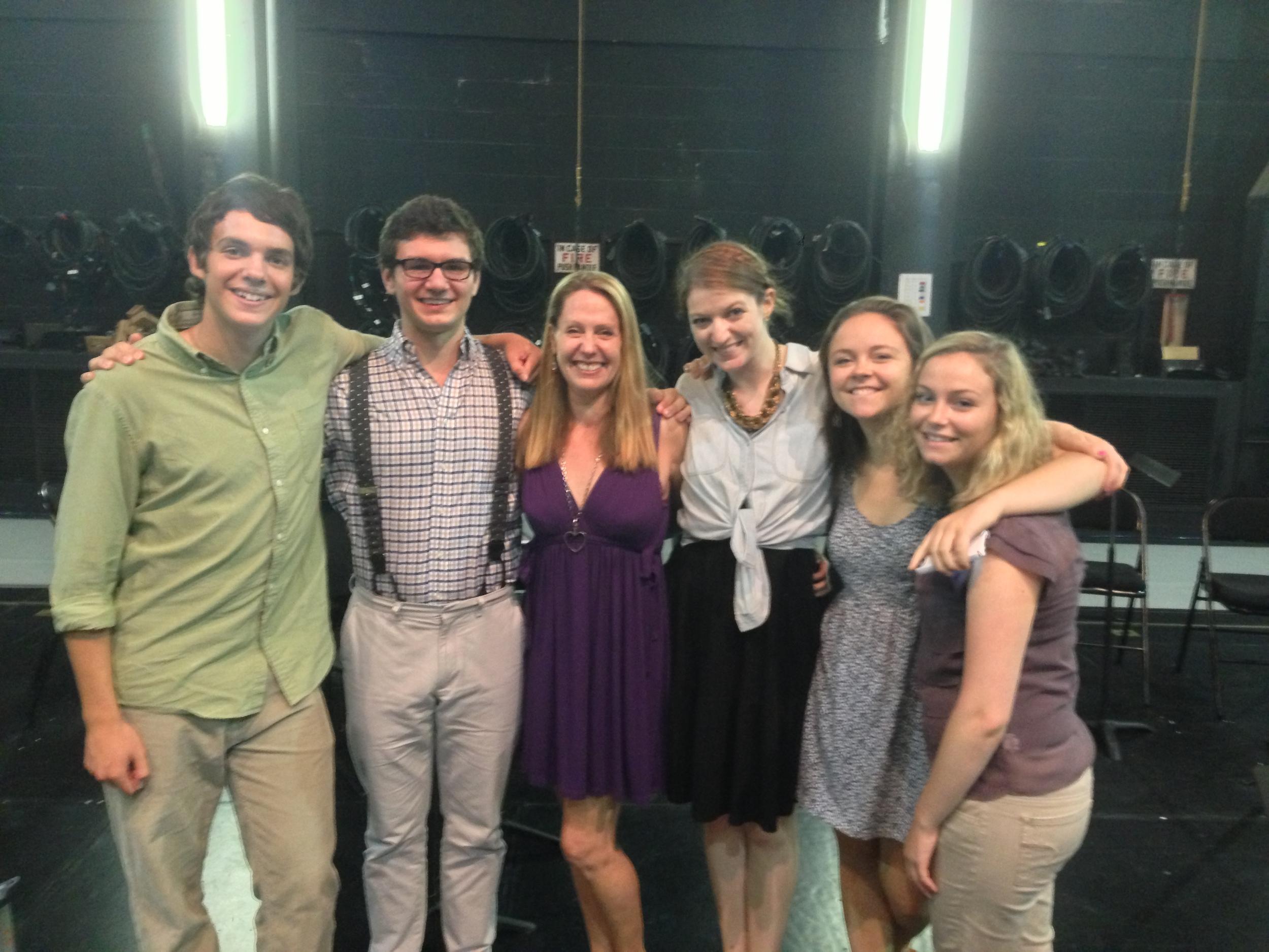 Oneida (left to right): Paul Frazel, Chris Gallerani, Beth Blatt, Katie Bruestle, Emma Orme, Katelyn Onufrey