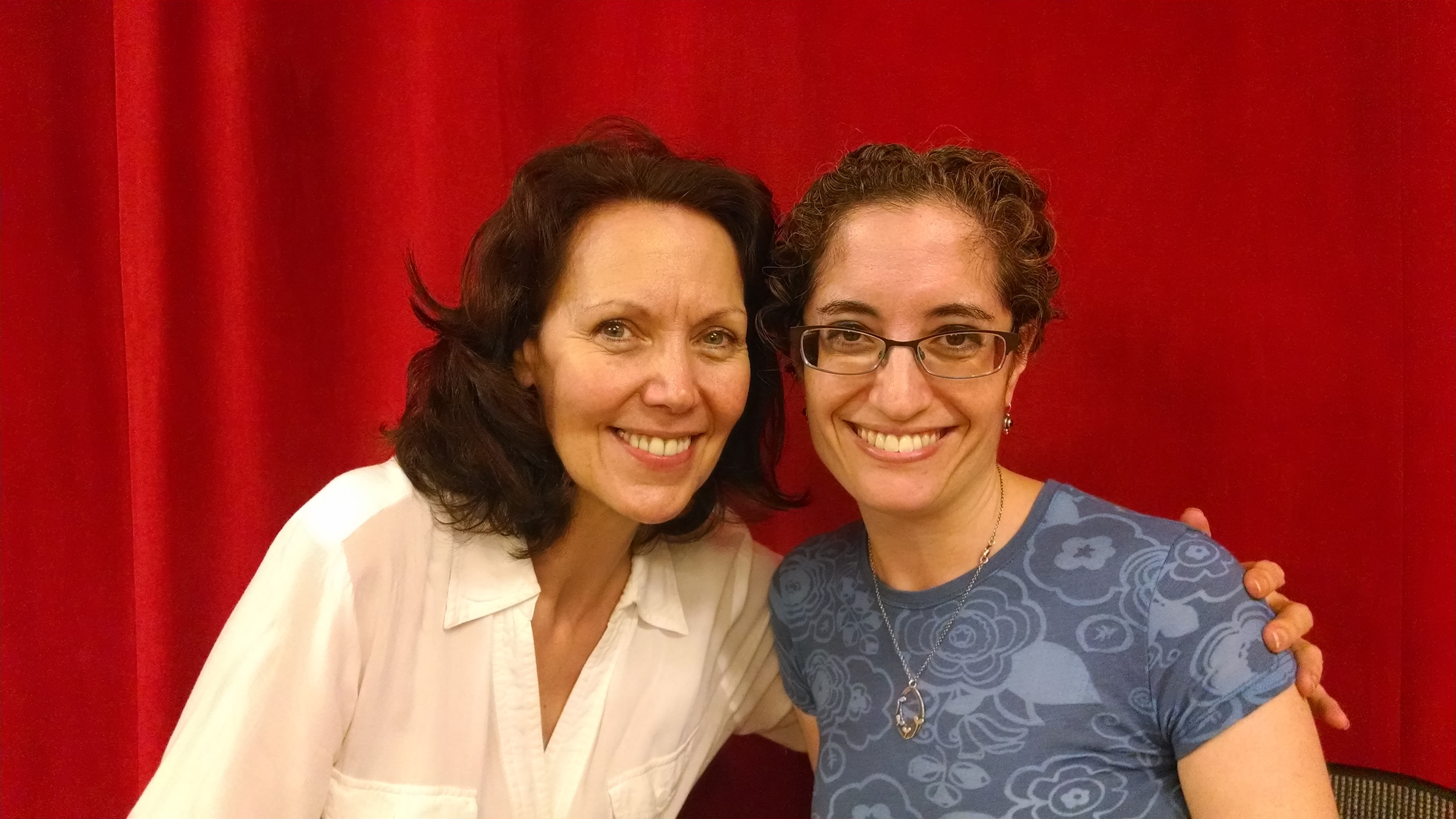 Lynne Wintersteller and director Michelle Tattenbaum