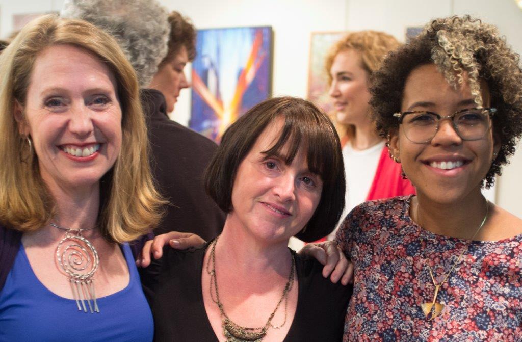 Hope Sings founder Beth Blatt, Kelly Phelan (Hour Children) and Amber Lewis (singer)