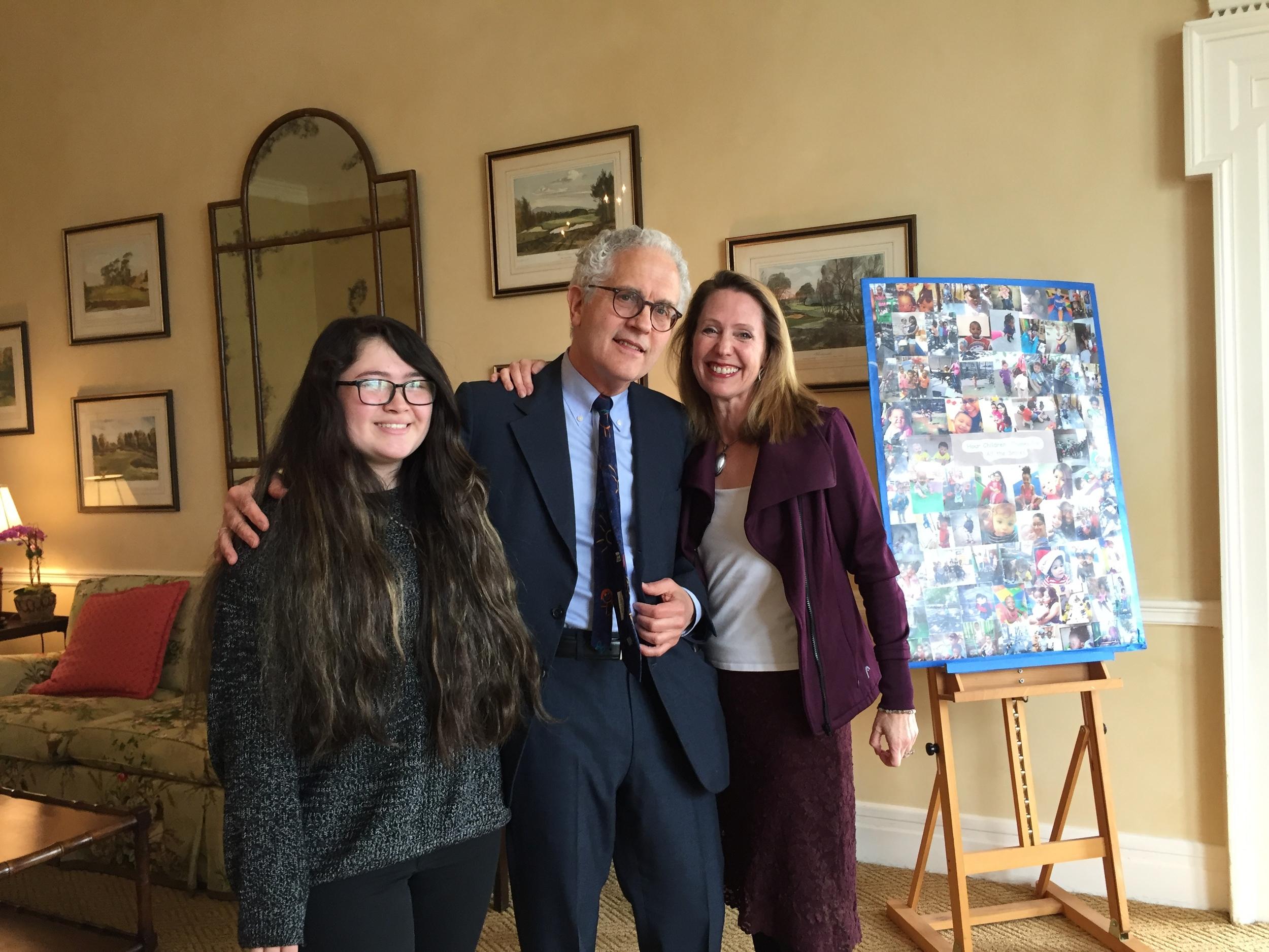 Tara Curran, Michael Minard, and Beth Blatt