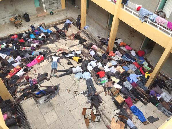 More than 147 reported dead in Garissa, Kenya, as Christians are targeted for execution.