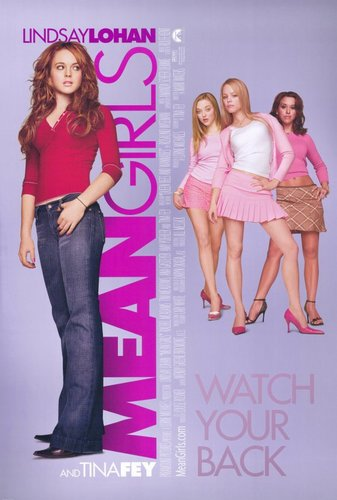 """On Wednesdays we wear pink Craig."""