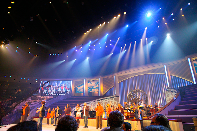"""Lakewood Church - the """"Trump Towers"""" of Houston churches"""