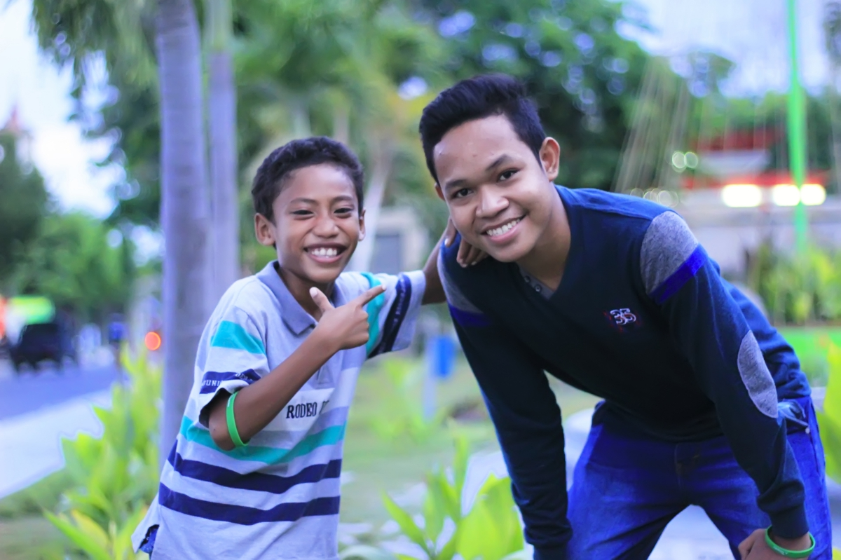 "An Alongsider and his ""little brother"" in Indonesia"