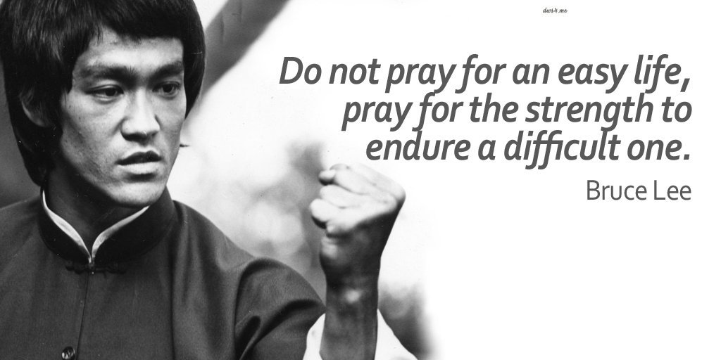 Bruce Lee and the Apostle Paul - both prayerfully kicking butts all over Asia.