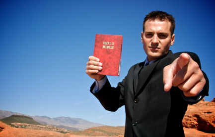 Hey if the KJV is good enough for the Apostle Paul, it's good enough for me!