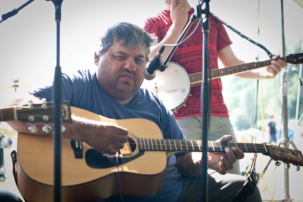 My friend Ricky went through hell in his life, but when he sang bluegrass gospel music he took me into the presence of God. RIP Ricky.