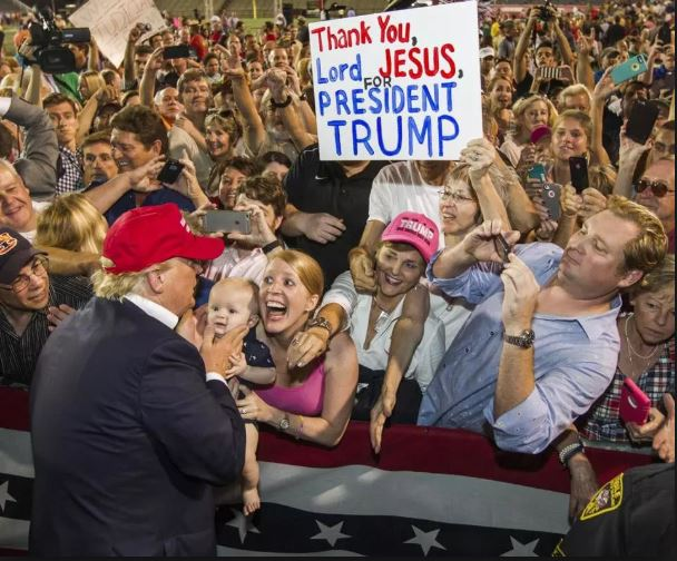 Make America Cynical about Christians Again.