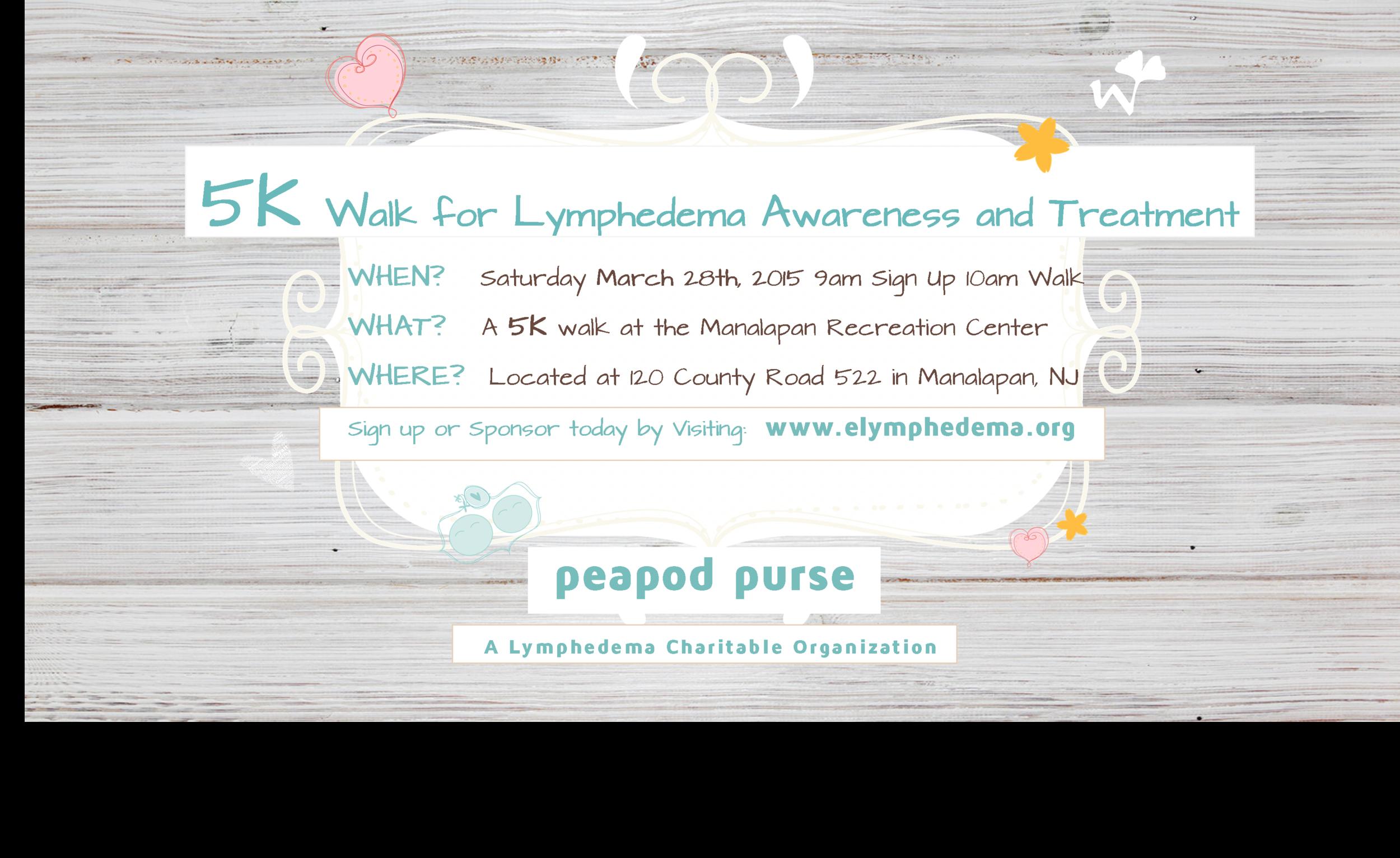 Lymphedema Charity Walk 2015