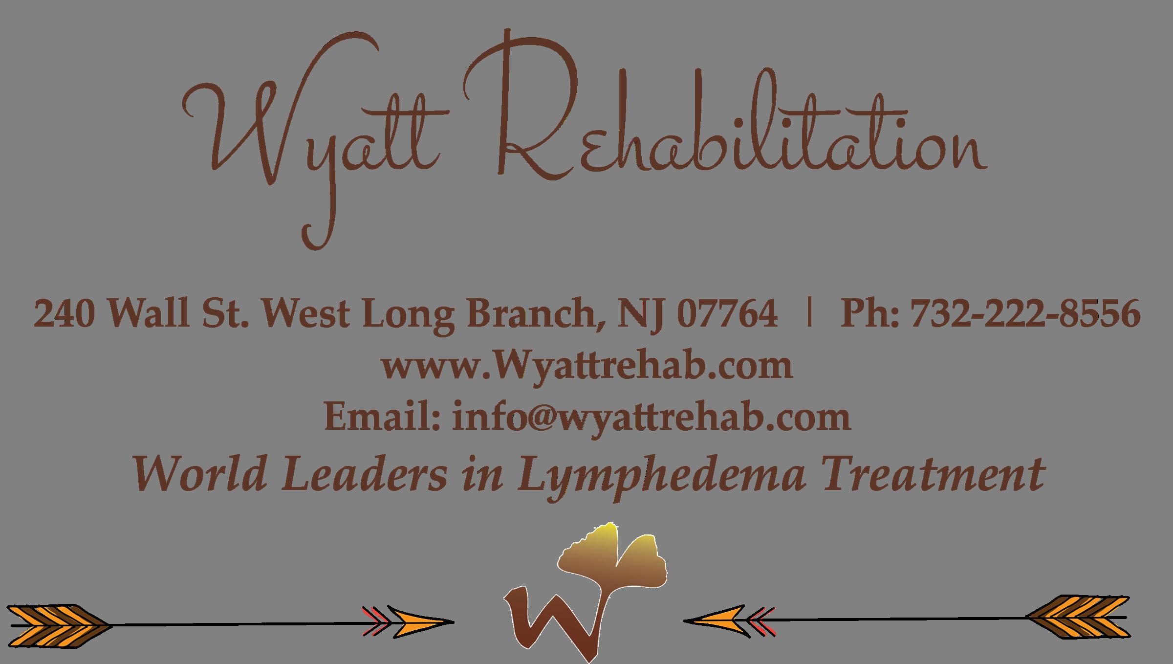 WYATT Rehab Lymphedema Treatment NJ