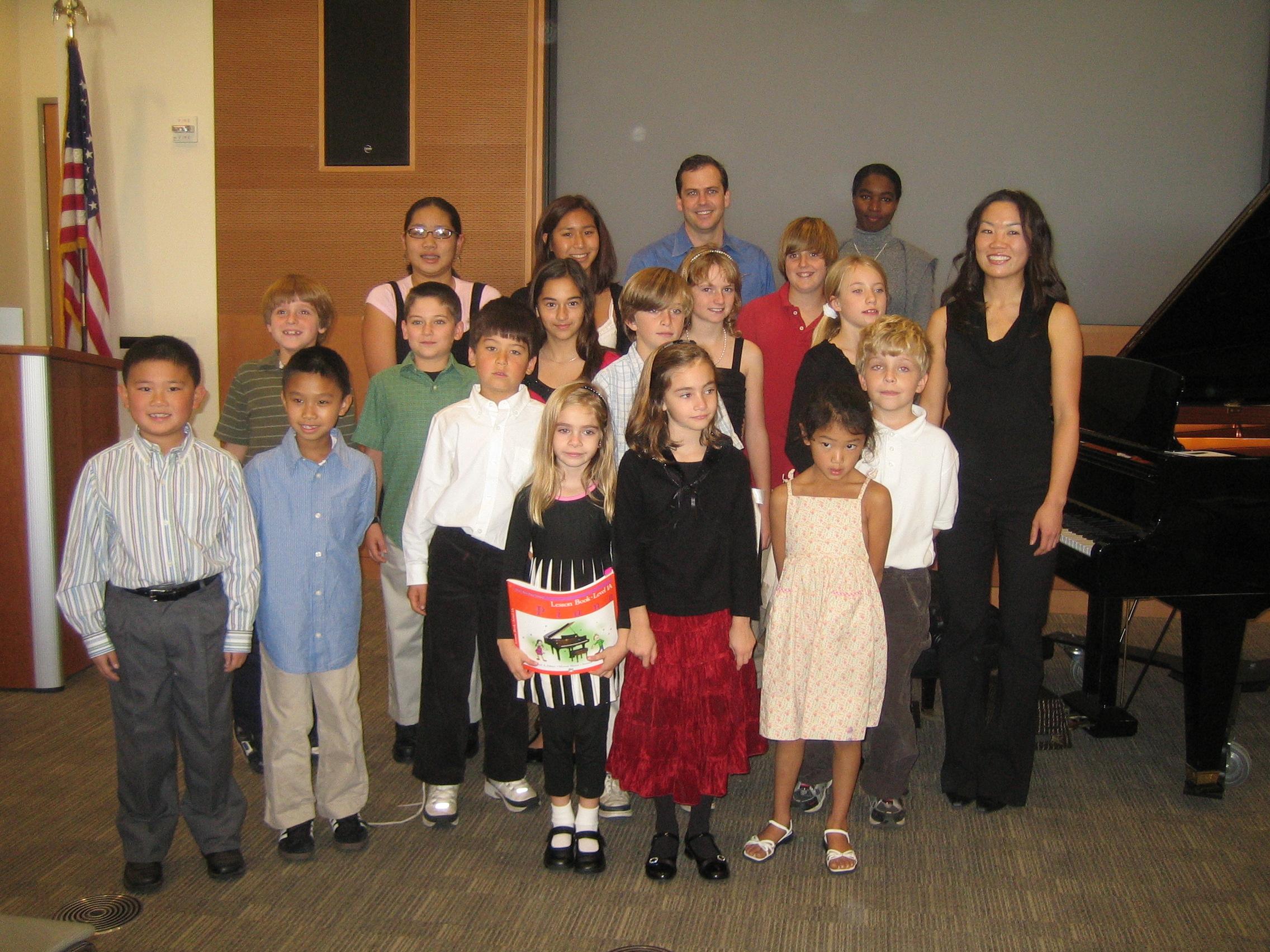 Soong Piano Studio 2007 Recital