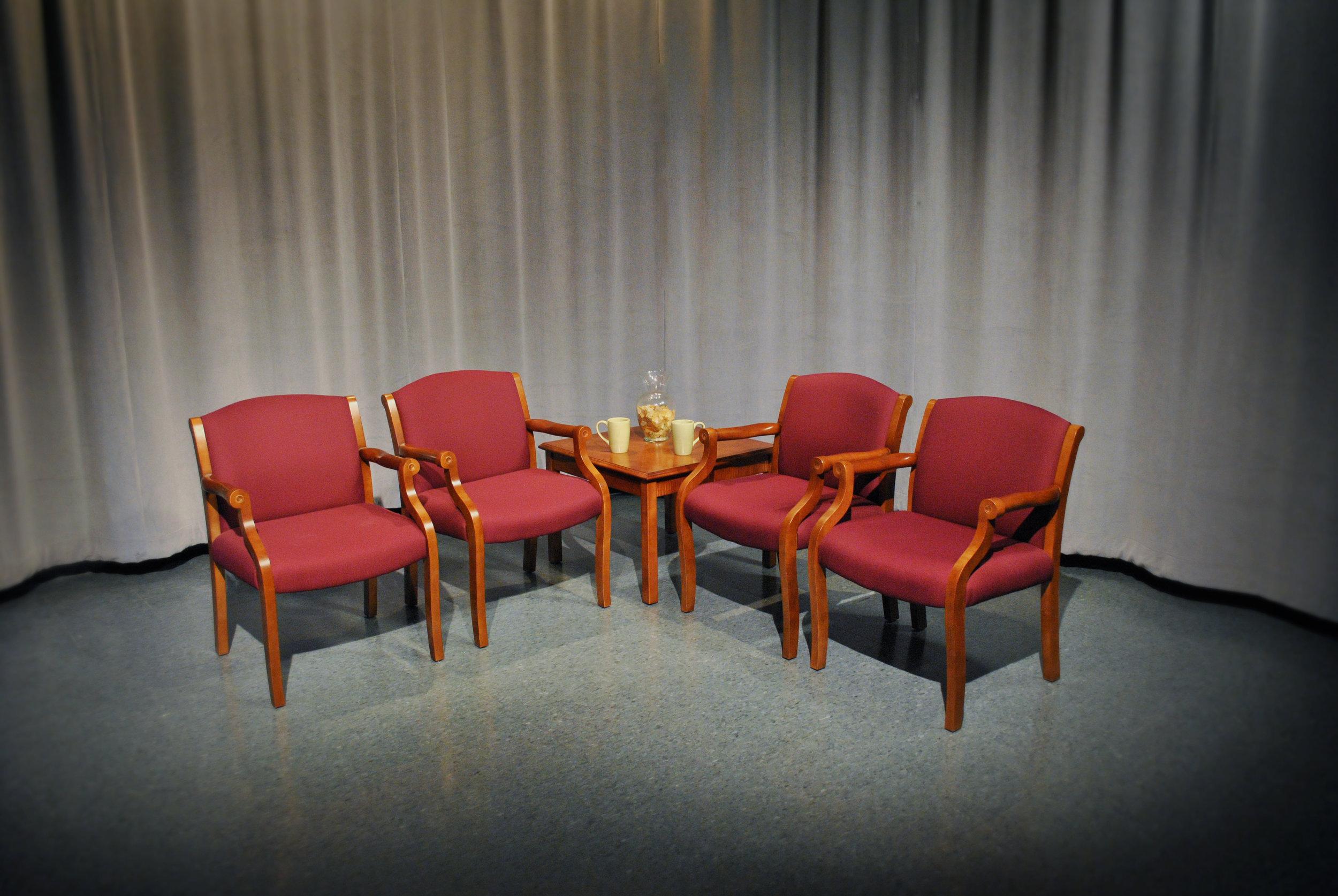 Copy of After:  TV Studio Set