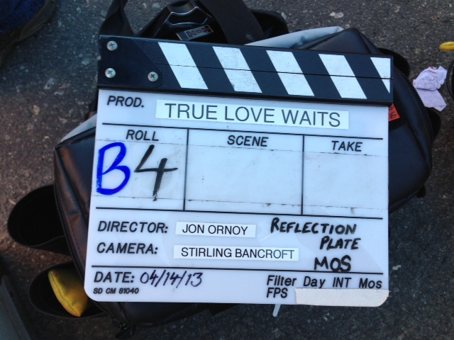 True Love Waits.