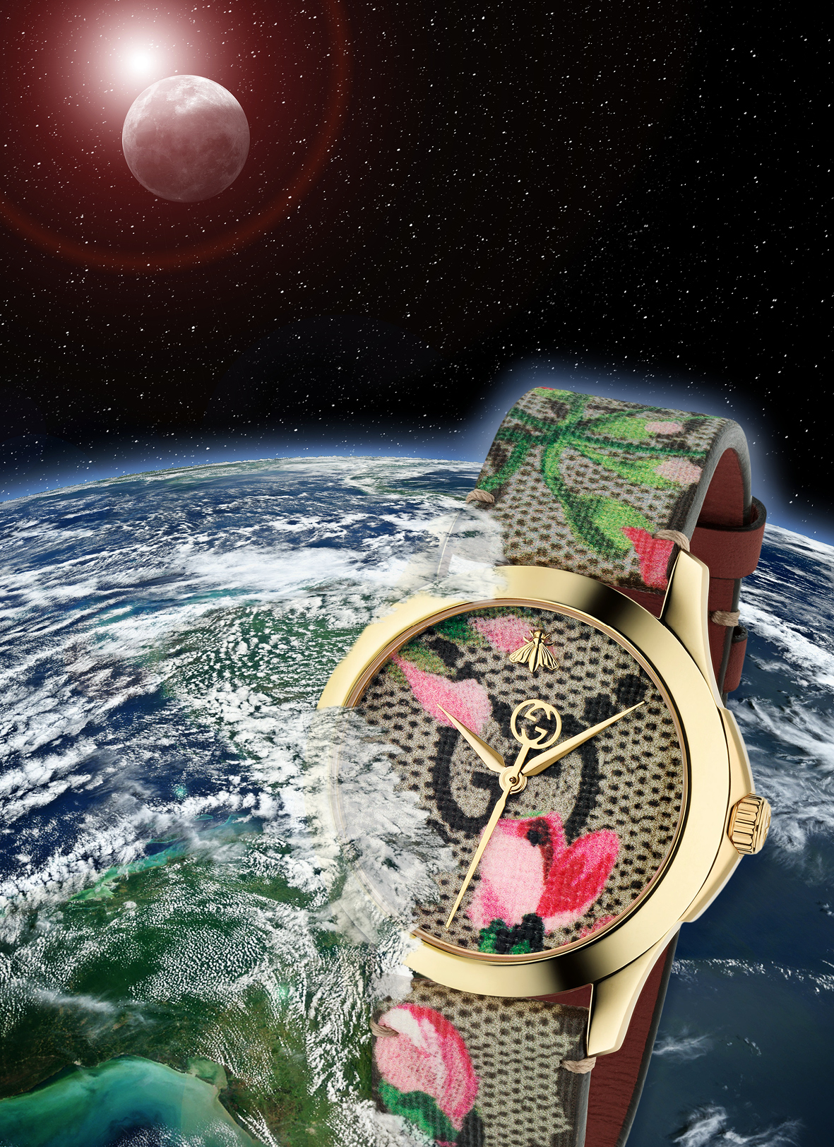 Out-Of-This-World series artwork: concept, retouching and design,  GUCCI
