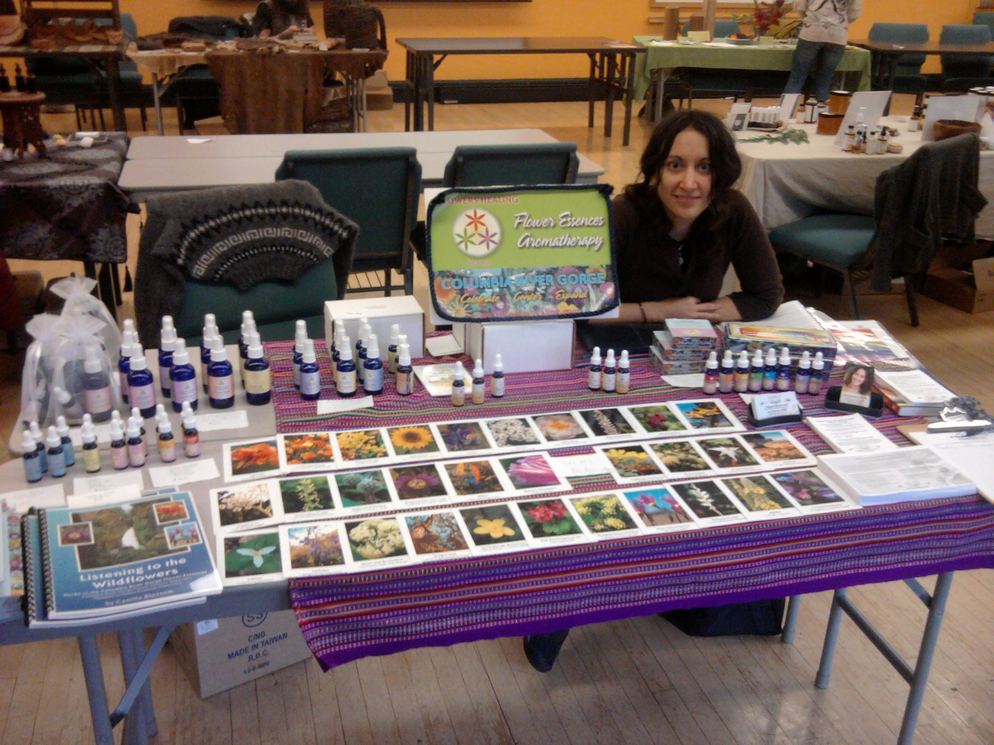 Jen at the Portland Plant Medicine Gathering conference. She had a mission to change the world and her weapons of choice were herbal medicine and astrology.