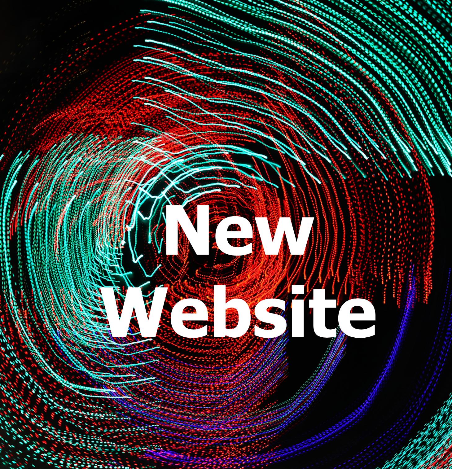 New website coming in Sept