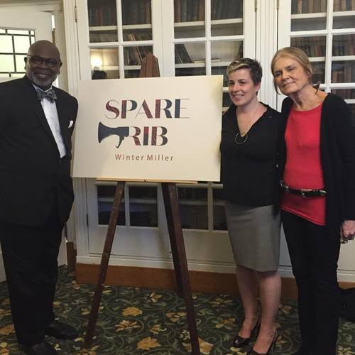 Dr. Willie Parker, Winter Miller and Gloria Steinem