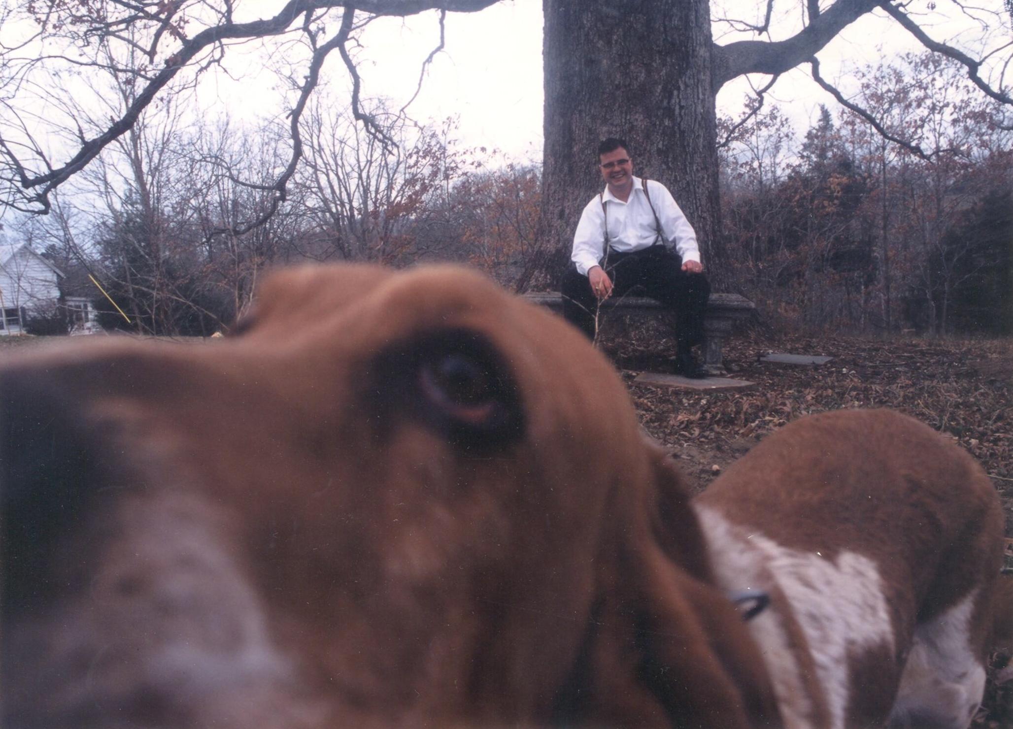 Chris king with dog.jpg