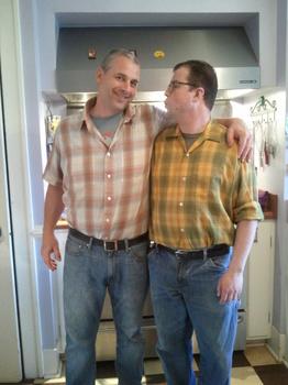 Chris King and Stuart Gunter