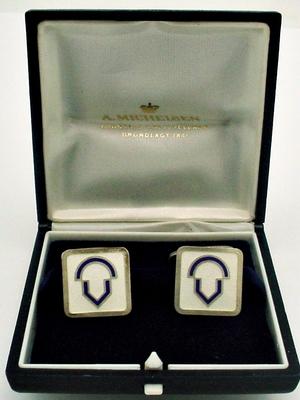 Anton Michelsen Sterling Silver Cuff Bracelet by Eigil Jensen Denmark 1950s Scandinavian Modern