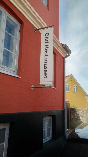 worth a visit,  danish artist's house oluf hoest.