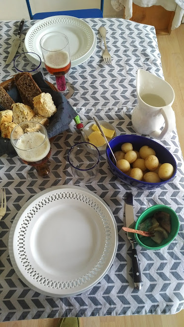 anette invited me for a typical danish lunch, i liked every bite, great arrangement