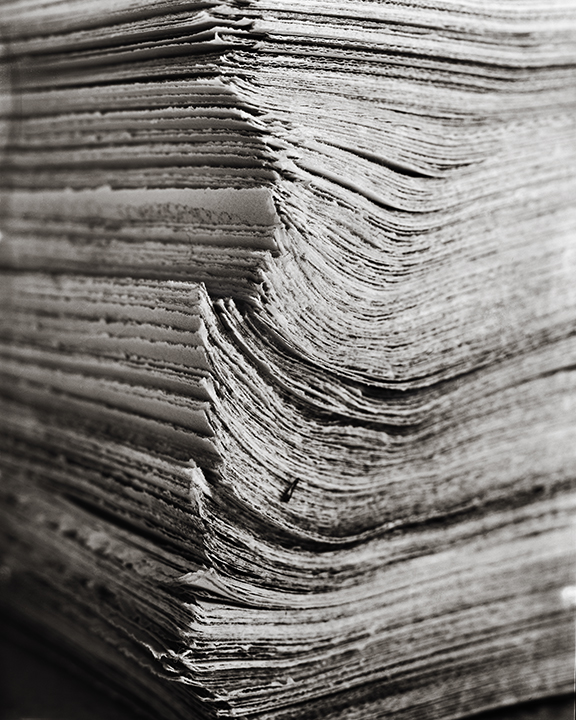 900 frames printed on vellum