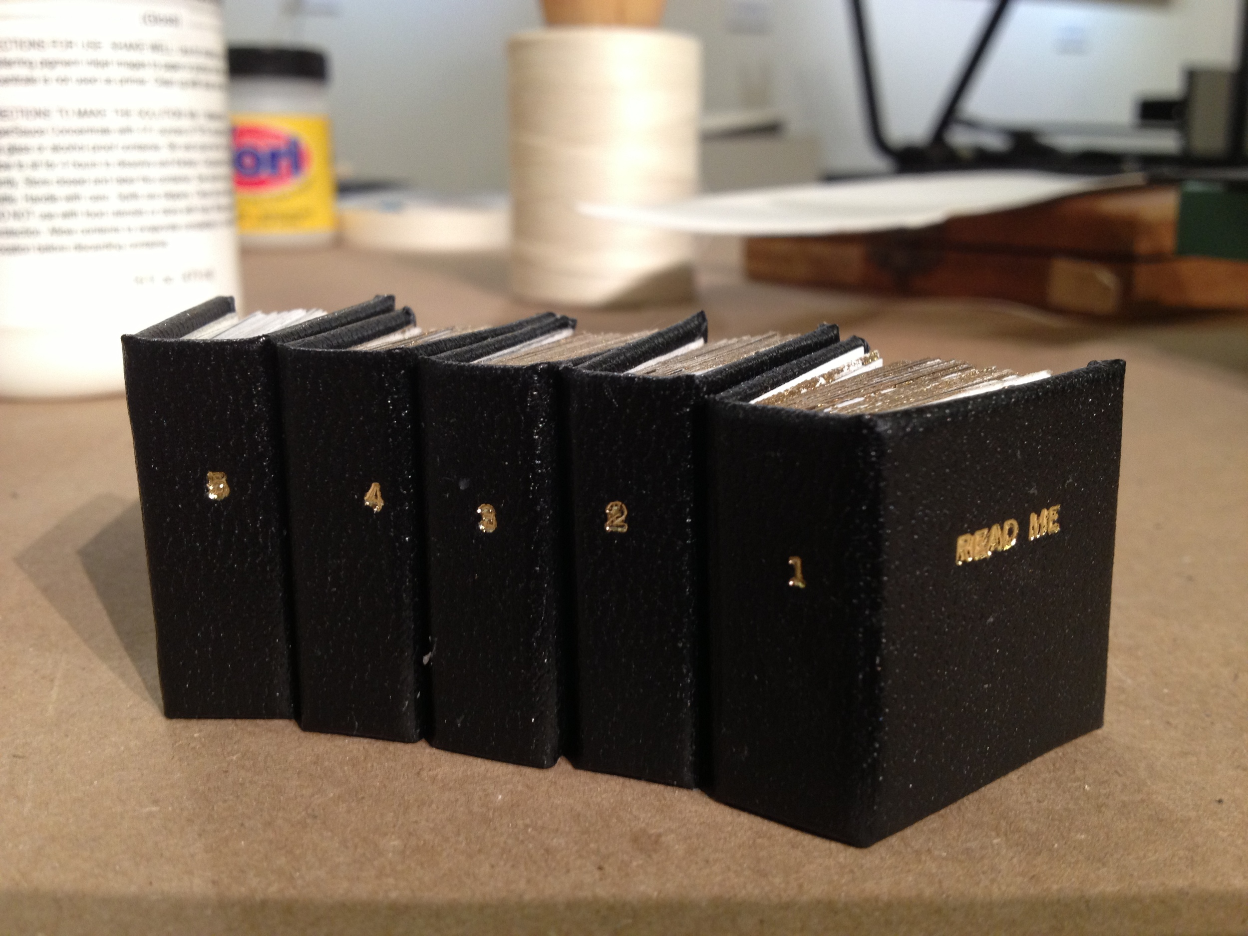 Mini books. To be continued...