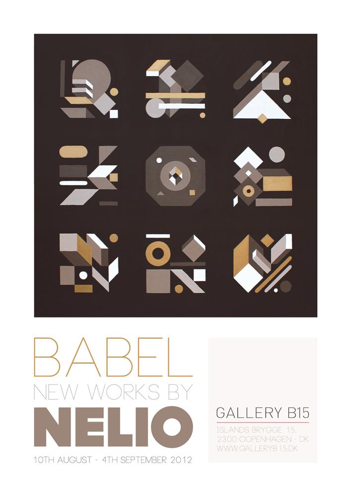 Nelio - Babel, B15 Gallery, Copenhagen