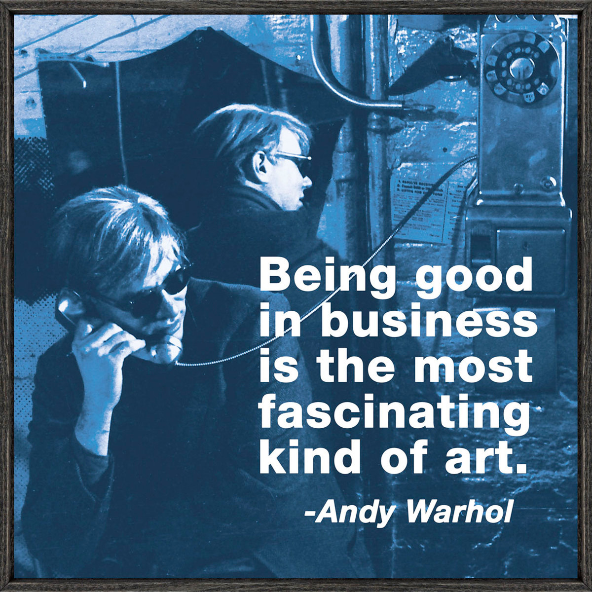 """Andy Warhol - """"the business"""""""