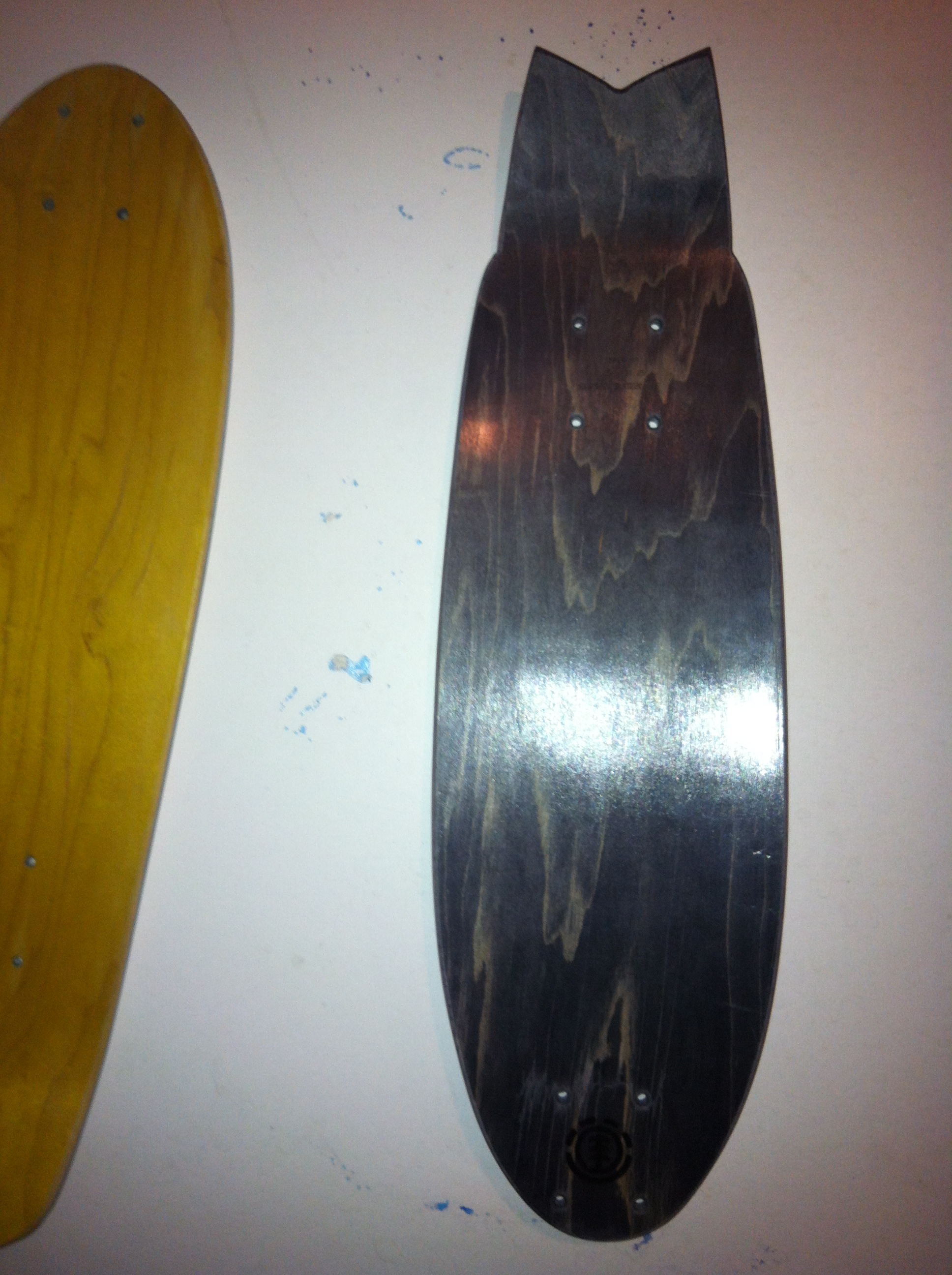 recycled 7 ply skateboards > cruiser & fish decks