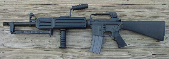 VK1-274 COLT M16A1 FACTORY 5.56mm SELECT FIRE LMG TYPE MACHINE GUN