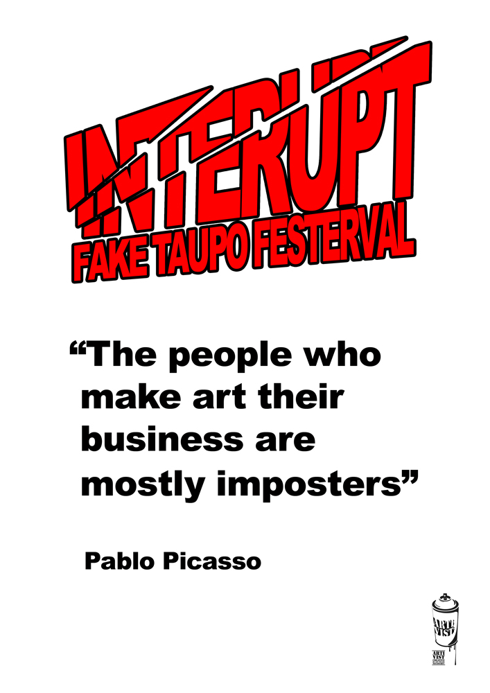IntErupt >> Fake Taupō Festerval >> unofficial posters