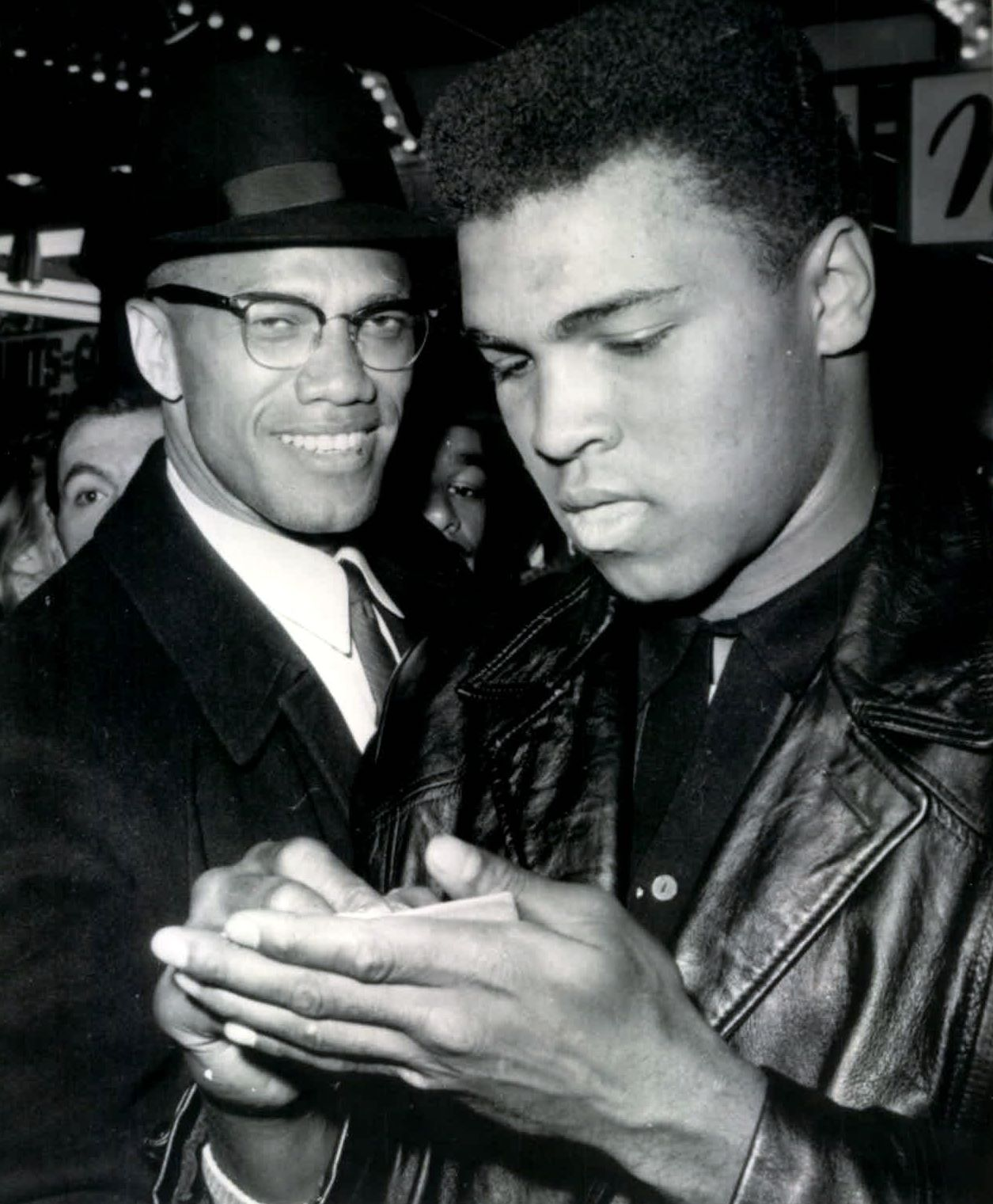 Malcolm X images << paste up concepts in the works