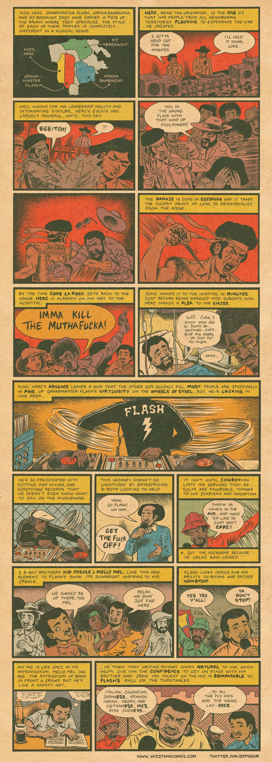 Hip Hop strip...