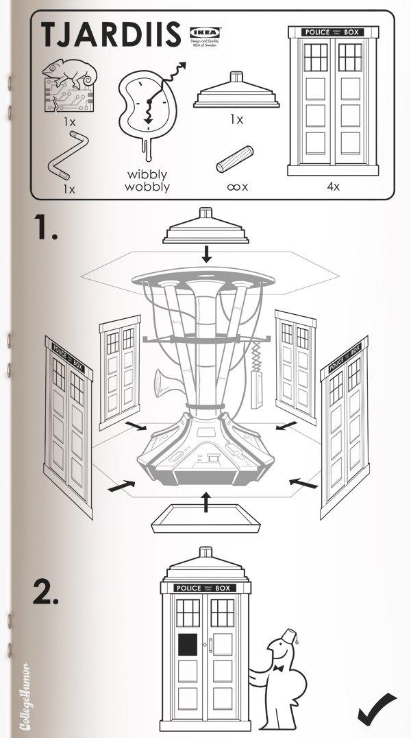 IKEA manuals for Sci-Fi