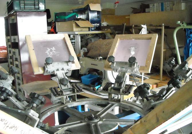 fresh venture... screen print shop <<< artistic & graphic prints